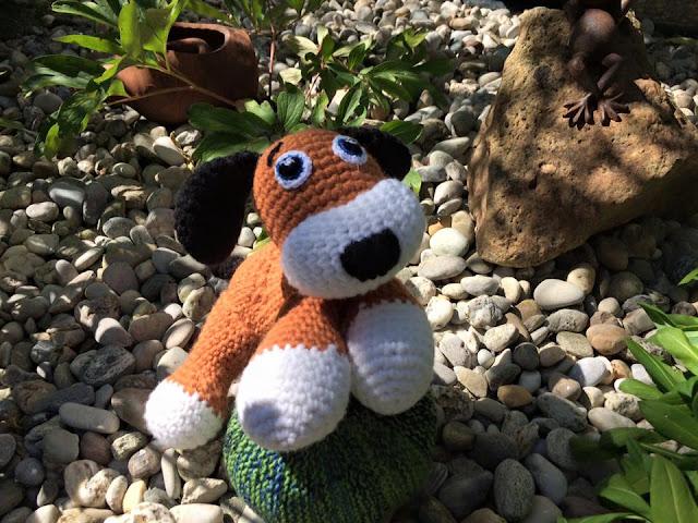 Häkelhund Caramel Amigurumi - Ideenpiratin