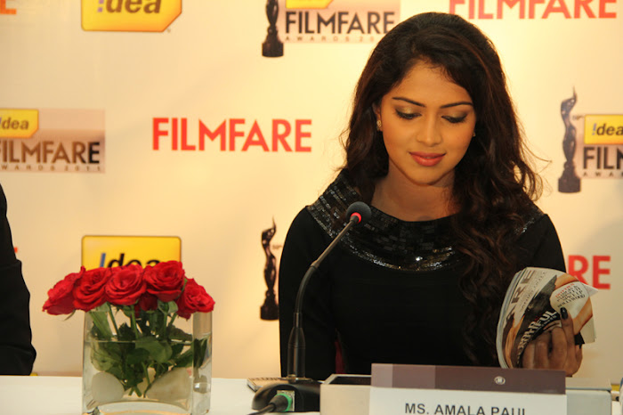 amala paul at 59th filmfare awards press meet amala paul at filmfare magazine cover june 2012 glamour  images
