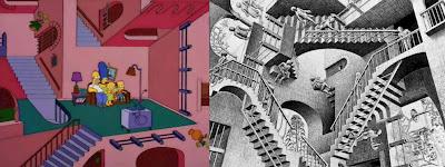 Relativity, M. C. Escher, 1953