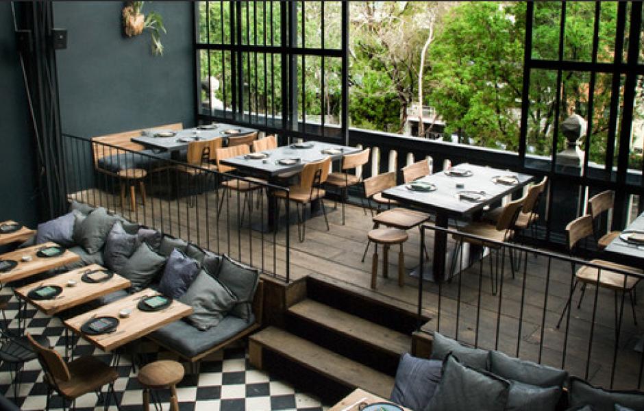 Restaurante archivos rojosill n for Restaurante madera