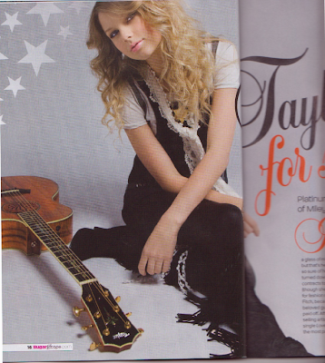 Taylor Swift, Miley Cyrus Photos from Sugar Magazine Photoshoot UK June 2009 HQ Scans