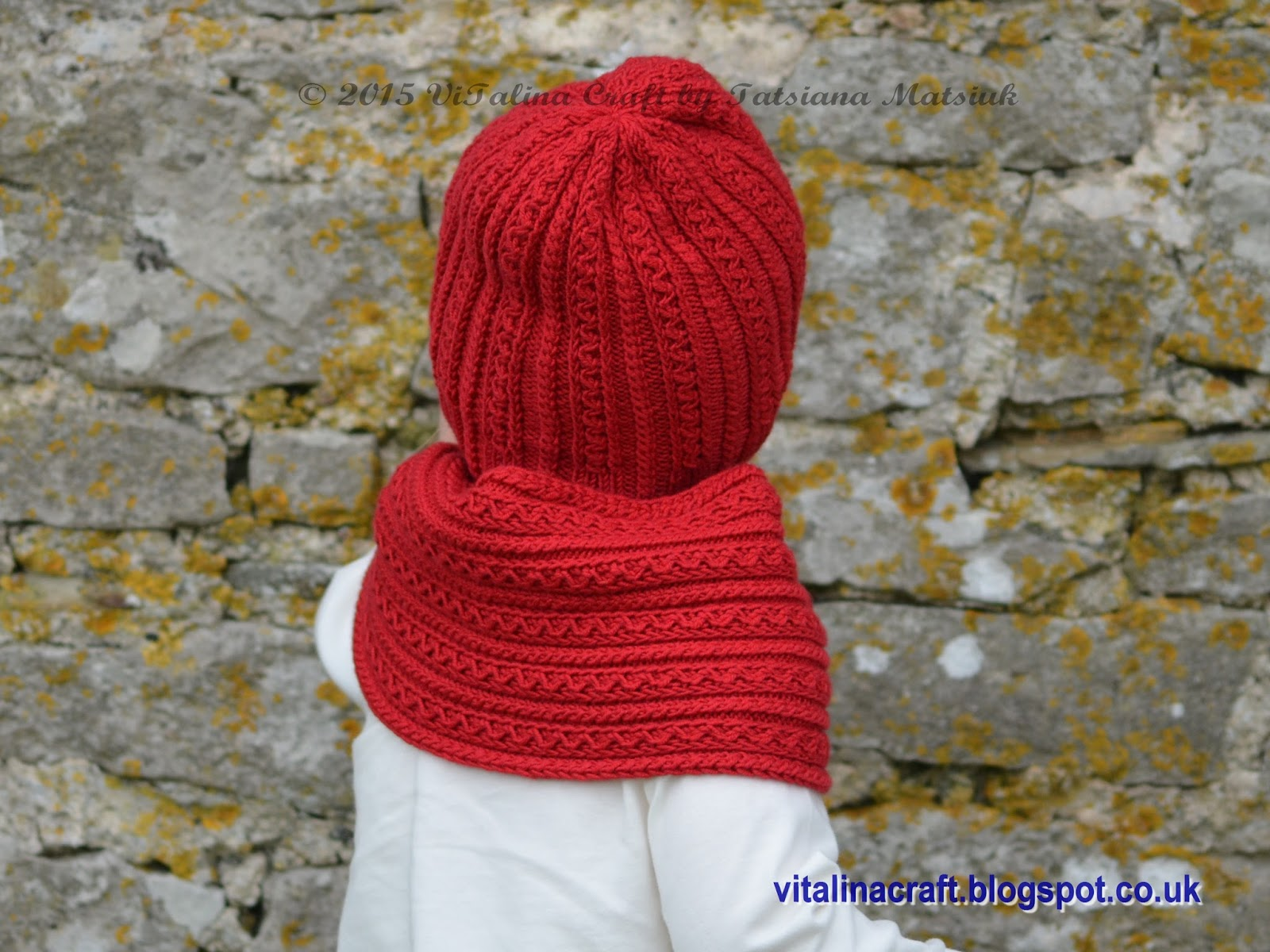 Knitting Pattern Child Hat And Scarf : Knitting Pattern - Tiny Cables Hat and Scarf Set (Baby ...