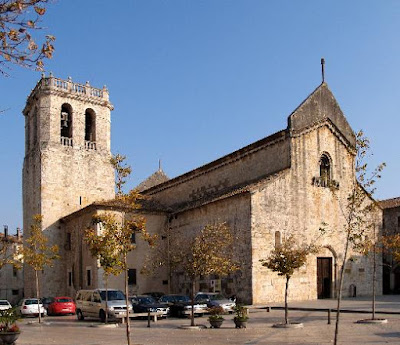 Church of Sant Pere monastery in Besalú