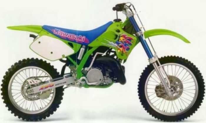 327 Rider S Club 1993 Kawasaki Kx 250 93 Kx250