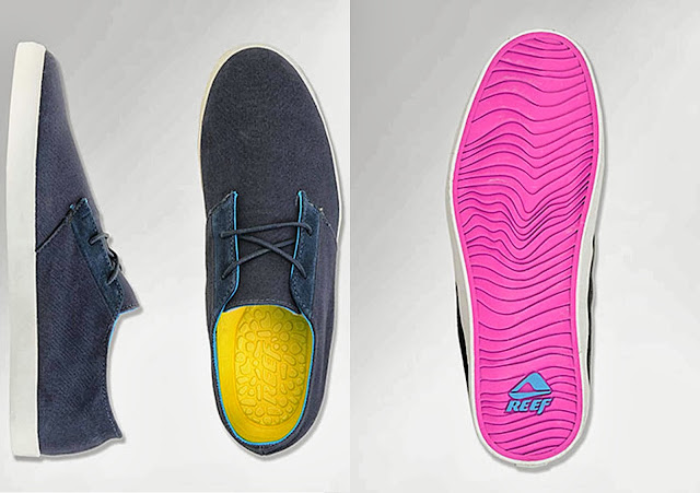 reef surfwear, reef clothing, reef mens shoes, surfing, pink shoes
