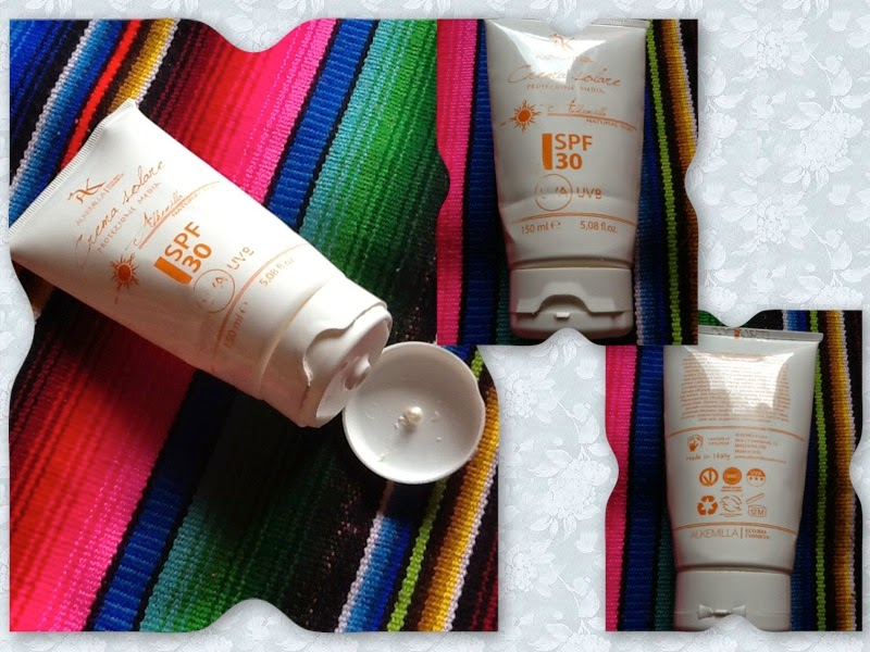 Alkemilla Natural Sun Protection SPF30