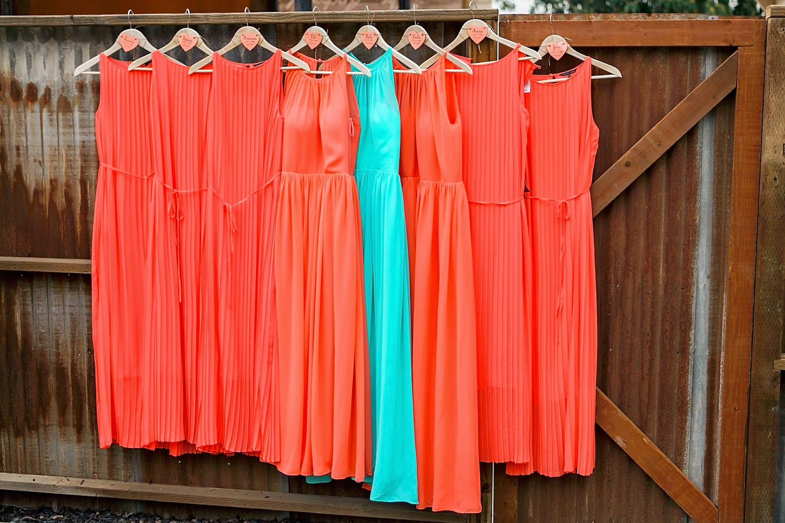 vista ranch and cellars, vista merced, vista ranch merced, bridal house at vista ranch, garden wedding, spring outdoor wedding, diy spring wedding, coral and turquoise bridesmaid dresses, coral bridesmaid dress, teal bridesmaid dress, simple bridesmaid dress, long bridesmaid dress