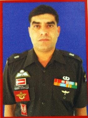 "Major Mohan Chandra, SM of 4 KUMAON, awarded ""Shaurya Chakra"" for operations in Kupwara, J&K"