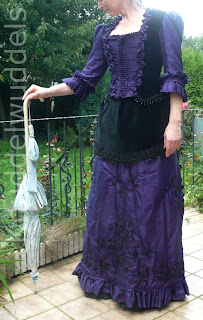 Gründerzeit Kleid