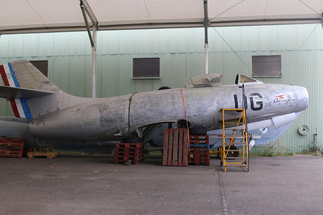 Dassault MD 450 Ouragan N°297 UG