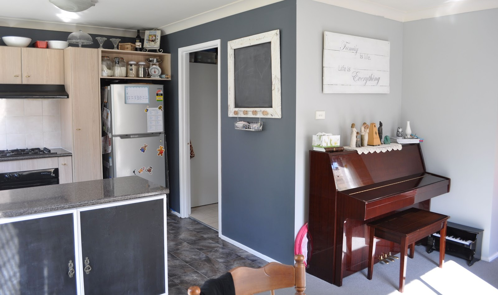 Amusing Grey Blue Kitchen Colors Gallery - Best inspiration home ...