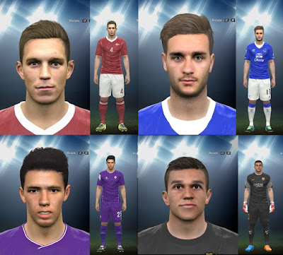 PES 2016 Mini FacePack 3 by LuzDa
