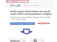 Cara mendaftarkan blog ke google webmaster