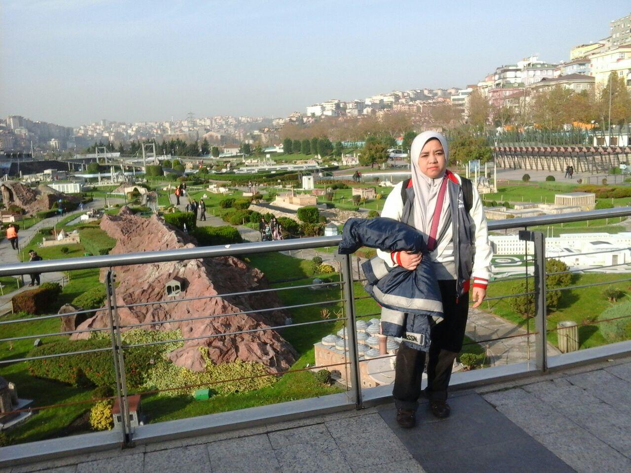 replika monumen2 di Turki