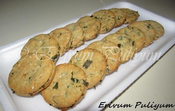 Masala Biscuits / Khara Biscuits (Eggless)