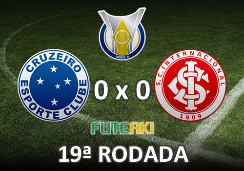 Veja o resumo da partida com os melhores momentos de Cruzeiro 0x0 Internacional pela 19ª rodada do Brasileirão 2015