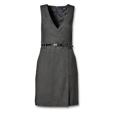 robe grise classique mexx