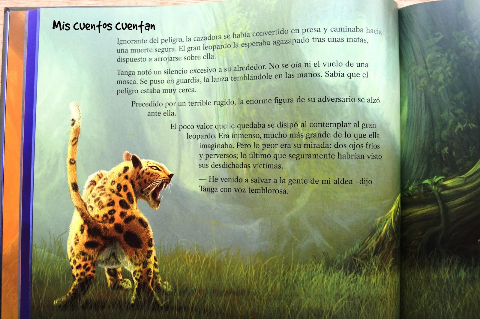Mis cuentos cuentan: Tanga y el gran leopardo
