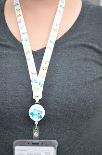 Hoot Sweet Lanyard / badge holder