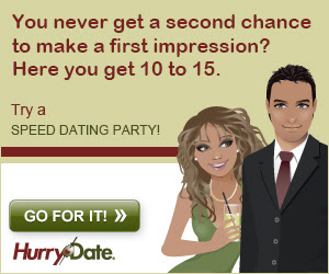 how to make a good impression speed dating