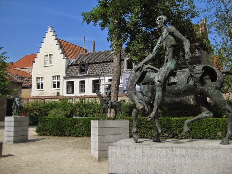 Rik Poot Scultpure Bruges