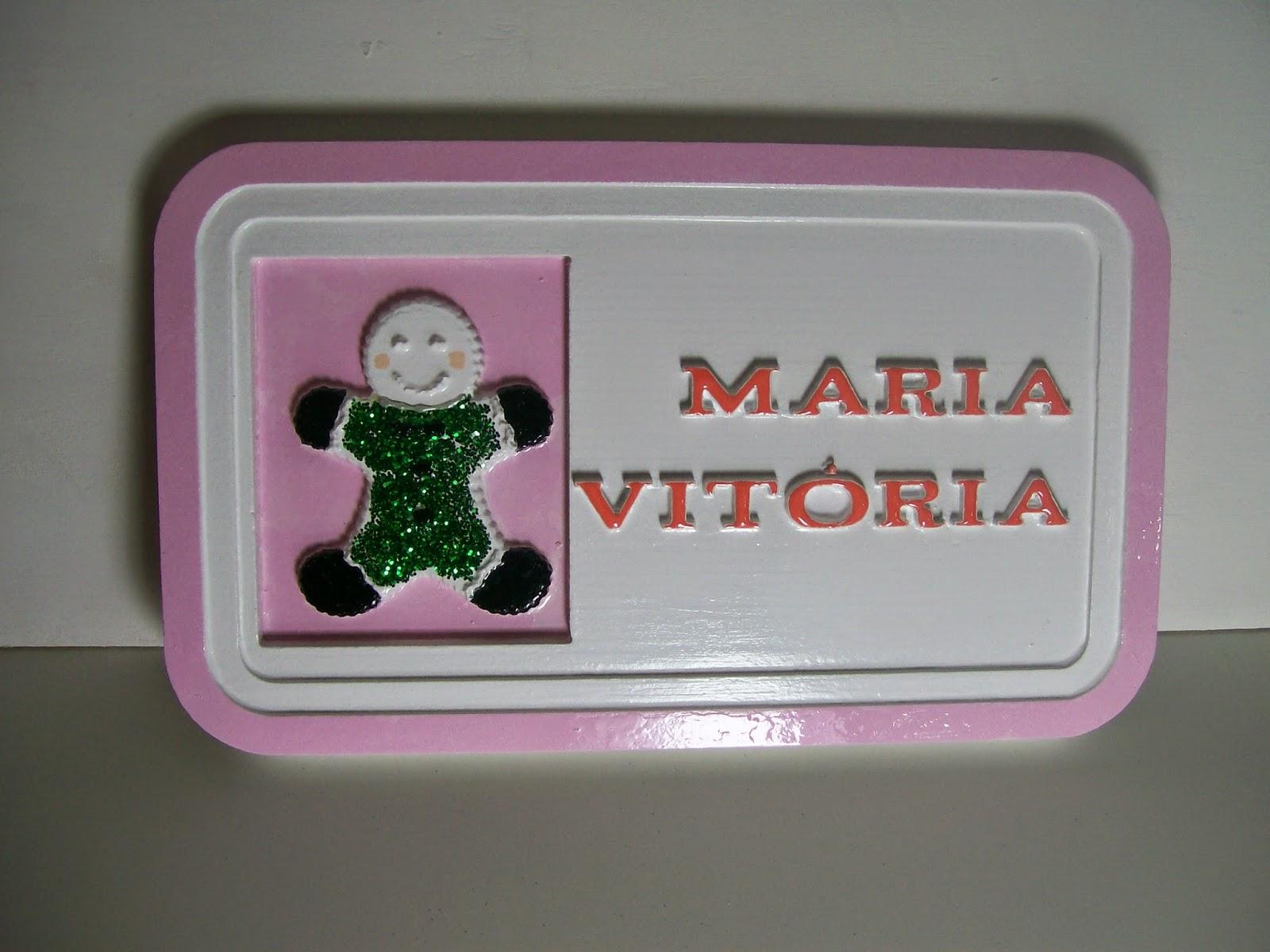 placa porta de maternidade