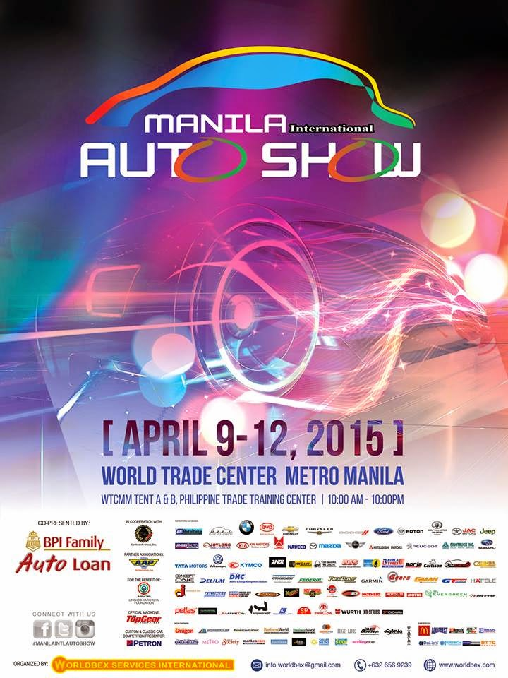 Manila International Auto Show 2015 Starts Today