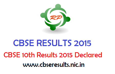 CBSE 10th Results 2015 - cbseresults.nic.in