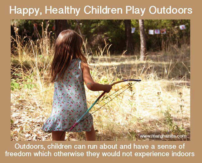 Happy Healthy Children Play Outdoors Inspirational Quotes And More
