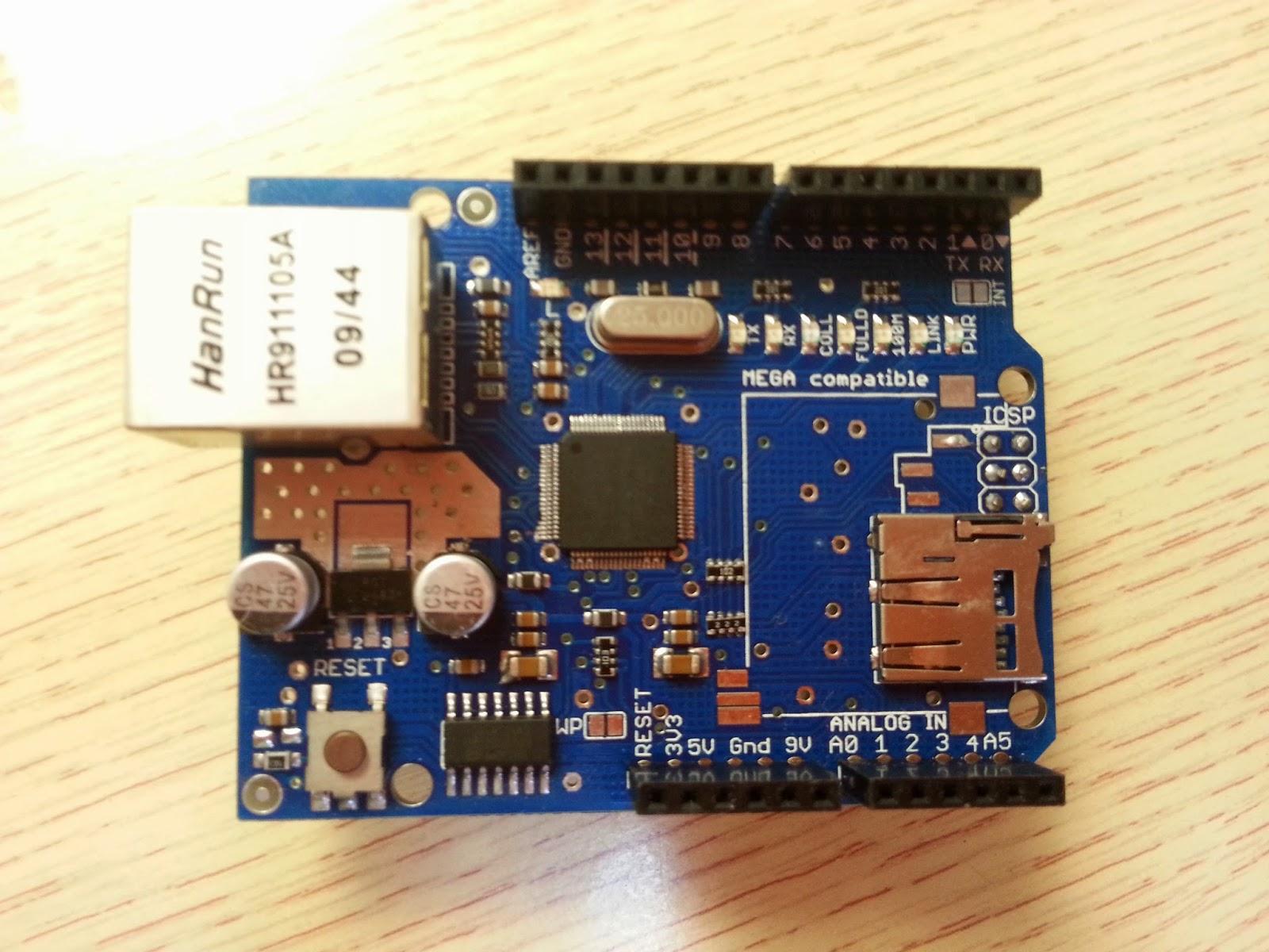 ESP8266 Web Server Scilab Arduino e