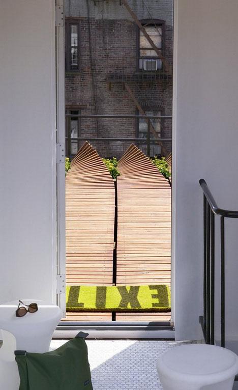Ejemplo de decoraci n de terrazas simple y barato - Terrazas interiores decoracion ...