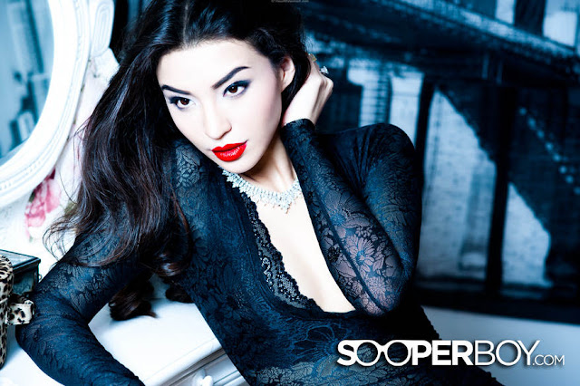 hot Manohara for Sooperboy, December 2012