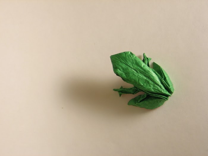 frog origami