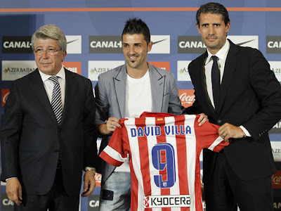 Foto David Villa Atletico Madrid Terbaru 2014 Wallpaper Foto David Villa di Atletico Madrid Terbaru Musim 2013 2014