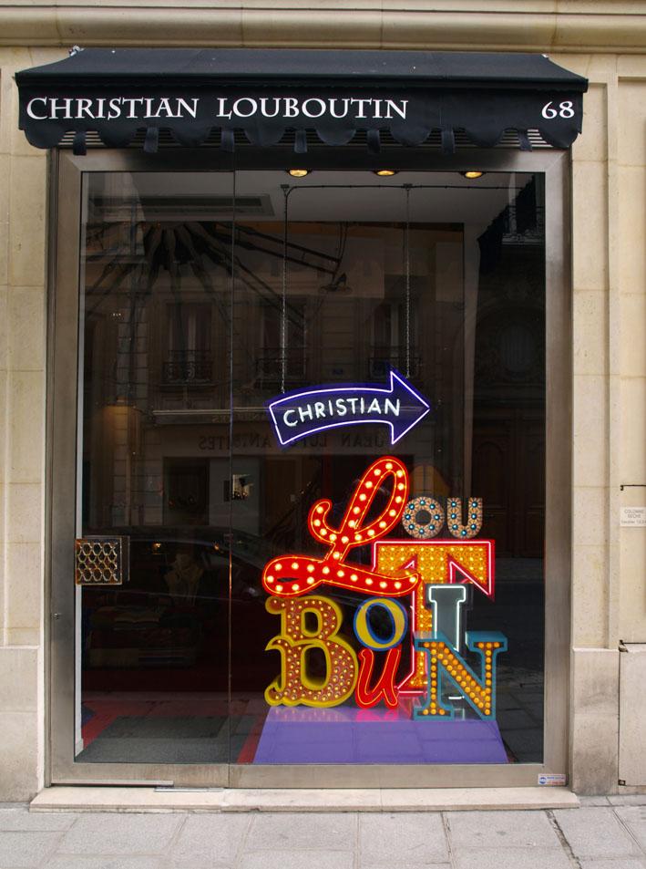 louboutin paris biggest store