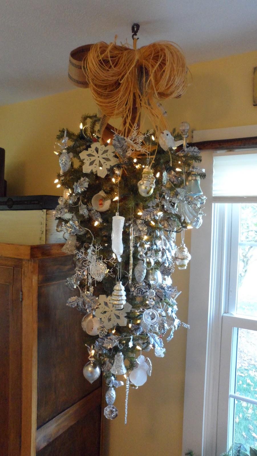 How To Hang A Christmas Tree Upside Down
