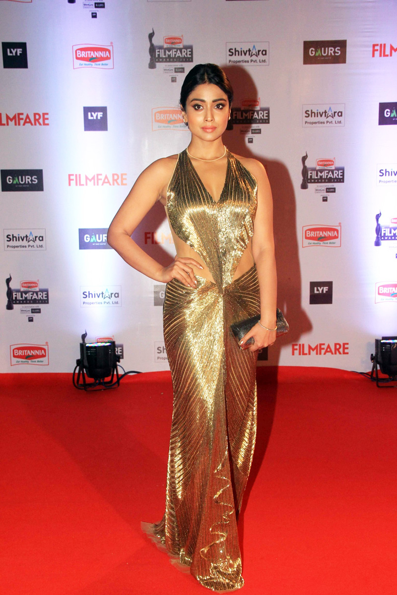 Shriya Saran Latest Photos at Filmfare Awards