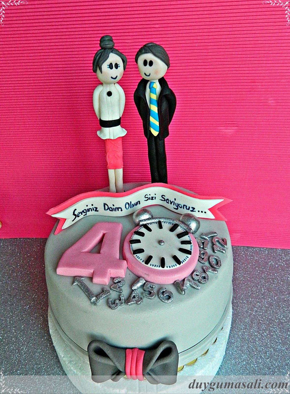 yıl dönümü butik pasta