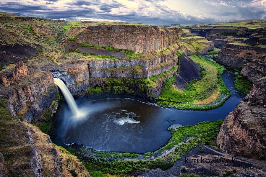 25. Palouse Falls by Kim Kozlowski