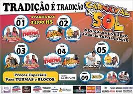 CARNAVAL DO SOL 2014 EM TABULEIRO GRANDE