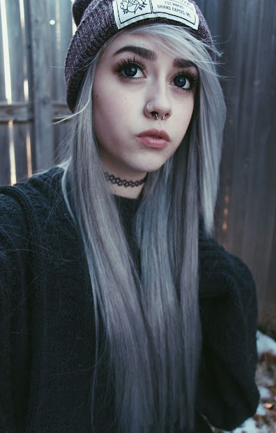 pastel goth hairstyles - haircut