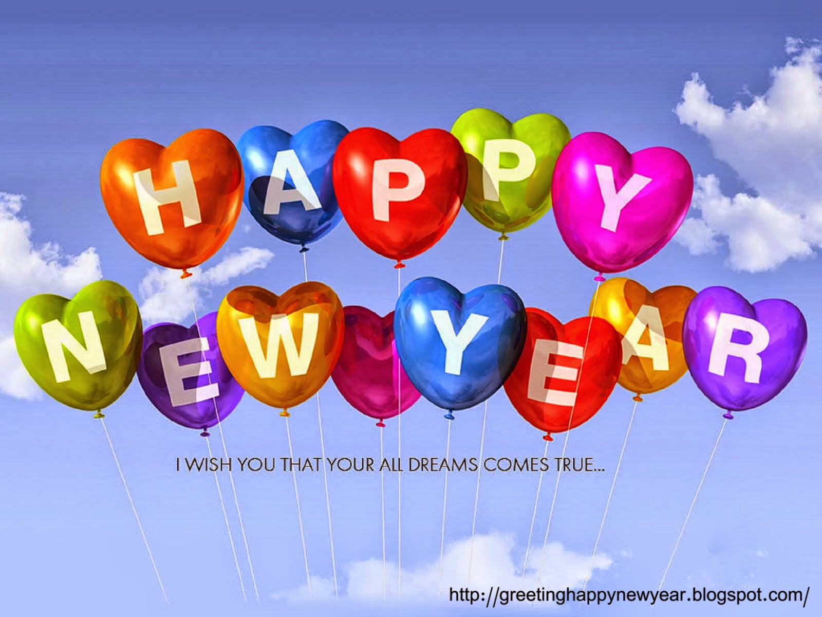 Latest Beautiful Happy New Year Pictures 2015