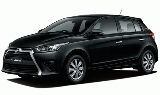 Toyota All New Yaris Black Mica