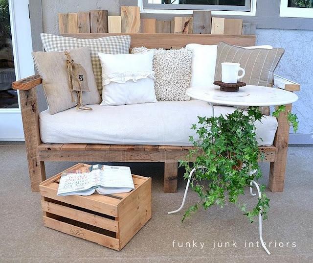 les recetines de mela decorar y reciclar todo es empezar On sofa hecho con palets