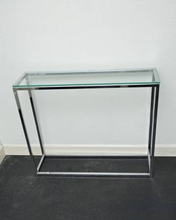Console Table   $100
