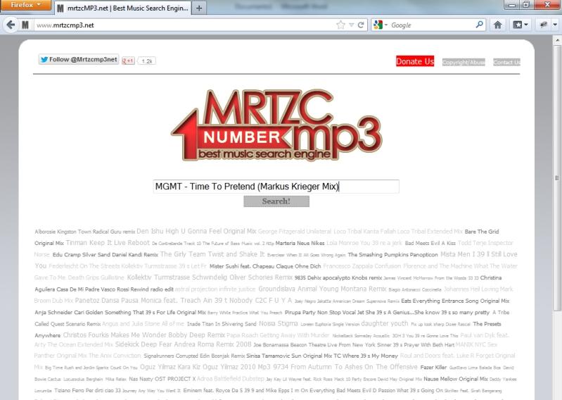 Descargar música de MRTZCMP3.net