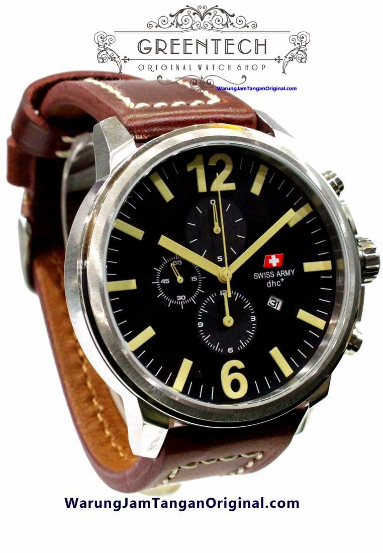 swiss-army-2012-silver-coklat-tua-hrg-770-male-45mm-kulit