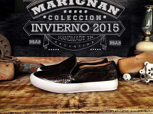 Moda calzado otoño invierno 2015 panchas Marignan.