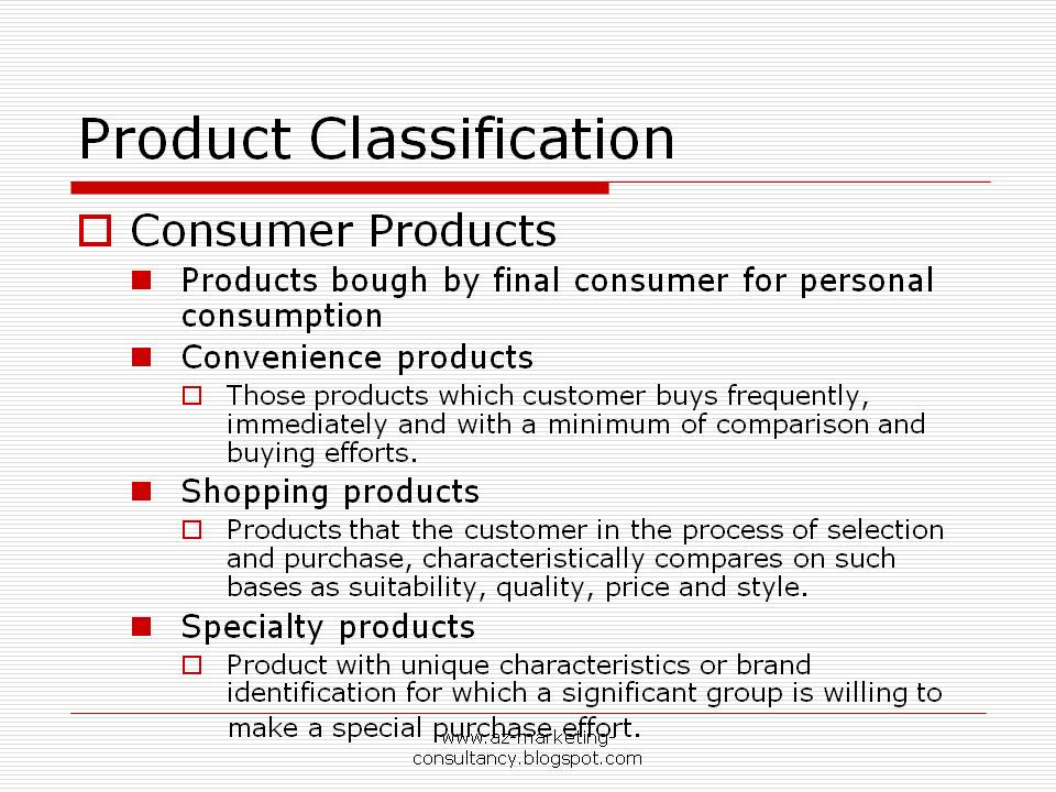 product classification The central product classification originated from initiatives in the early 1970s to harmonize international classifications prepared under the auspices of the united nations and other international bodies, in economic statistics and other fields.