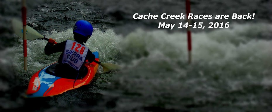 2016 Cache Creek Slalom and Downriver Races